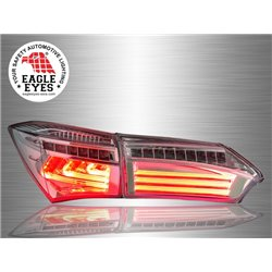 TOYOTA COROLLA ALTIS E170 2014 - 2017 EAGLE EYES L-Concept Smoke LED Light Bar Tail Lamp [TL-255]