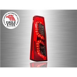 TOYOTA AVANZA 2003 - 2010 EAGLE EYES Red Smoke LED Tail Lamp [TL-191]