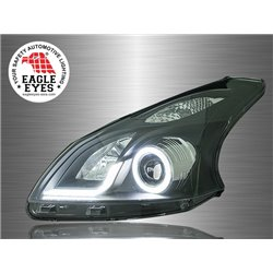 TOYOTA AVANZA 2011 - 2014 EAGLE EYES L-Style Light Bar CCFL LED Ring Projector Head Lamp [HL-170]