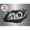 TOYOTA CAMRY XV40 2006 - 2008 EAGLE EYES CCFL Ring LED Starline Projector Head Lamp [HL-115-2]