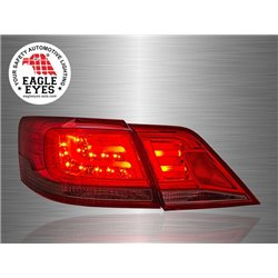 TOYOTA CAMRY XV40 Facelift 2009 - 2011 EAGLE EYES Red Smoke LED Light Bar Tail Lamp [TL-165-2]