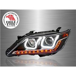 TOYOTA CAMRY XV50 2012 - 2017 EAGLE EYES U-Concept LED Light Bar Projector Head Lamp [HL-148]