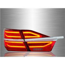 TOYOTA CAMRY XV50 Hybrid Facelift 2015 - 2017 Red Clear LED Light Bar Tail Lamp [TL-283]
