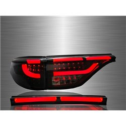 TOYOTA ESTIMA ACR50 2006 - 2014 Smoke LED Light Bar Tail Lamp Lights + Rear Garnish (SRA)