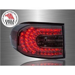 TOYOTA FJ CRUISER 2006 - 2014 EAGLE EYES Smoke LED Tail Lamp [TL-232-1]