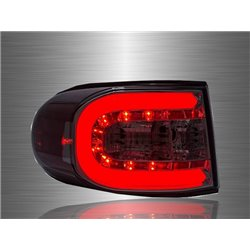 TOYOTA FJ CRUISER 2006 - 2014 Smoke C-Concept LED Light Bar Tail Lamp [TL-258]