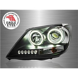 TOYOTA FORTUNER 2005 - 2010 EAGLE EYES CCFL Ring LED Starline Projector Head Lamp [HL-062-1]