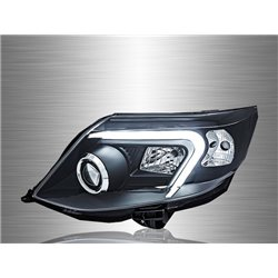 TOYOTA FORTUNER Facelift 2011 - 2014 LED Light Bar Projector Head Lamp [HL-198]