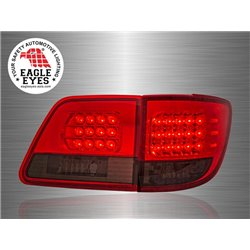 TOYOTA FORTUNER 2005 - 2010 EAGLE EYES Red Smoke LED Tail Lamp [TL-060-2]