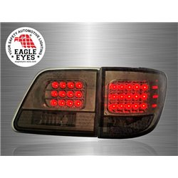 TOYOTA FORTUNER 2005 - 2010 EAGLE EYES Full Smoke LED Tail Lamp [TL-060-2]