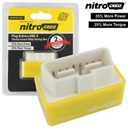 [ORIGINAL] NitroOBD2 Plug and Drive Chip Tuning Box Increase Engine Performance 35% & Fuel Saving up to 15%
