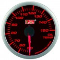 AUTOGAUGE 60mm Super Amber and White Oil Temp Meter[303]