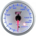 AUTOGAUGE 60mm Blue Racer (White Face) Oil Pressure Meter [516]