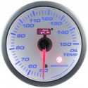 AUTOGAUGE 60mm Blue Racer (White Face) Oil Temp Meter [ 518]