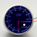 AUTOGAUGE 60mm Blue Racer (Black Face) RPM Tachometer [295]