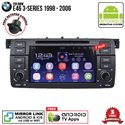 "BMW E46 3-Series 1998 - 2006 SKY NAVI 7"" FULL ANDROID Double Din GPS DVD CD USB SD BLUETOOTH IOS Mirror Link Player"