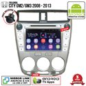 "HONDA CITY GM2/ GM3 2008 - 2013 SKY NAVI 8"" FULL ANDROID Double Din GPS DVD CD USB SD BLUETOOTH IOS Mirror Link Player"