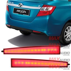PERODUA BEZZA Night Rider Sportivo Multifunction Rear Bumper LED Reflector