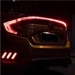 HONDA CIVIC FC 2016 - 2017 EAGLE EYES Rear Center Trunk LED Light Bar Tail Lamp Garnish (CIVIC SI Coupe Concept)