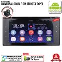 "UNIVERSAL TOYOTA SKY NAVI 7"" FULL ANDROID Double Din GPS DVD CD USB SD BLUETOOTH IOS Mirror Link Player"