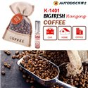 AUTODOC BIG FRESH HANGING Coffee for Car/ Home/ Office Perfume Fragrance Mist Air Refreshener (K-1401)