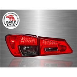 LEXUS IS250 IS350 2005 - 2012 EAGLE EYES Red Smoke LED Tail Lamp [TL-130]