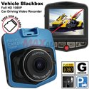 Vehicle Blackbox Full HD 1080P Wide Angle View 170 Degree Car Dash Cam Driving Video Recorder (DVR) [Free 8GB SD Card]