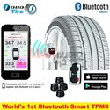 FOBO Advance Wireless Tire Pressure Monitoring Sytem (TPMS) with Bluetooth 4.0 Connection to Smartphone