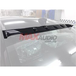 (MOST CARS) Aerodynamic Vortex Generator Roof Fin Visor