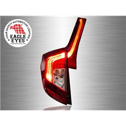 HONDA JAZZ/ FIT GK 2014 - 2017 EAGLE EYES Red Smoke LED Light Bar Tail Lamp [TL-252]