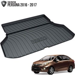 PROTON PERSONA 2016 - 2017 ORIGINAL ABS Rubber Anti Non Slip Rear Trunk Boot Cargo Tray