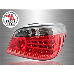 BMW E60 5-Series 2003 - 2010 EAGLE EYES Red Smoke LED Tail Lamp [TL-012-BMW-5]