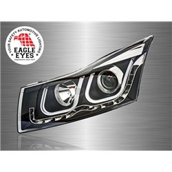 CHEVROLET CRUZE 2008 - 2016 EAGLE EYES U-Concept LED Light Bar Projector Head Lamp [HL-134-1]