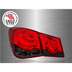 CHEVROLET CRUZE 2008 - 2016 EAGLE EYES Red Smoke Lens LED Light Bar Tail Lamp [TL-184-2]