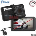 "FORDAYO JAPAN PH06 3"" Full HD 1080P Car Dash Camera Driving Video Recorder DVR with Rear Reverse Camera [Free 16GB SD Card]"