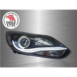 FORD FOCUS 2011 - 2017 EAGLE EYES LED Light Plank Projector Head Lamp [HL-165]
