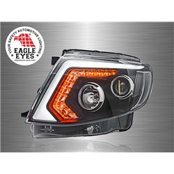 FORD RANGER T6 2011 - 2015 EAGLE EYES LED Light Bar Projector Head Lamp [HL-186]