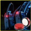 Universal Fit Super Bright Wireless Door Red LED Plug and Play Anti Collision Warning Safety Flashing Lights