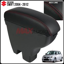SUZUKI SWIFT 2004 - 2012 Quality Genuine Cow Leather Center Arm Rest Console Box with Cup Drink Holder