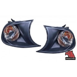 EAGLE EYES BMW 3 SERIES '98-'01 BLACK CRYSTAL CORNER LAMP[CL-009-BMW]