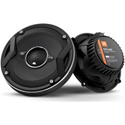 "JBL GTO629 6.5"" 2-Way 60W RMS 180 Peak Power 3-ohms Coaxial Car Audio Speaker with Edge Driven Tweeters System"