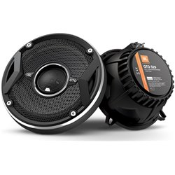 "JBL GTO529 5.25"" 2-Way 50W RMS 135W Peak Power 3-ohms Coaxial Car Audio Speaker with Adjustable Edge Driven Tweeters System"
