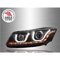 HONDA ACCORD 2008 - 2012 EAGLE EYES U-Concept LED Light Bar Projector Head Lamp [HL-100-2]