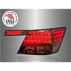 HONDA ACCORD 2008 - 2012 EAGLE EYES Full Smoke 4D LED Tail Lamp [TL-147-3]