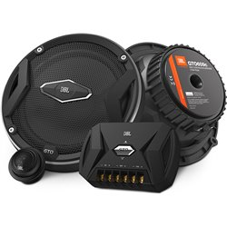 "JBL GTO609C 6.5"" 2-Way 90W RMS 270W Peak Power 3-ohms Component Car Audio Speaker System"