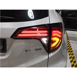 HONDA HRV, VEZEL, XRV 2015 - 2017 EAGLE EYES 3D Full Smoke Light Bar LED Tail Lamp