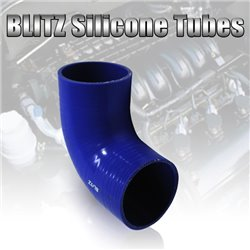 BLITZ 3 Layer Racing Silicone 90º Degree Elbow Silicone Hose Tubes Connector