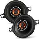 "JBL CLUB 3020 3.5"" 2-Way 40W RMS 120W Peak Power 3-ohms Car Audio Coaxial Speaker with Edge Driven Tweeters System"