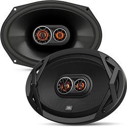 "JBL CLUB 9630 6""x9"" 3-Way 160W RMS 480W Peak Power 3-ohms Car Audio Coaxial Speaker with Edge Driven Tweeters System"