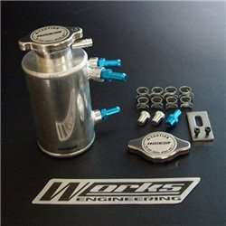 WORKS ENGINEERING Engine Cooling System Aluminium Breather Tank Set [W-BT]
